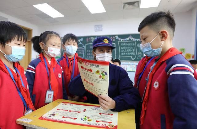 河北固安:消防安全宣传教育护航开学季